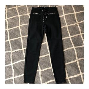 Laced Jeans
